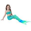זול בגדי ים לבנות-בנות חמוד פעיל דפוס בגדי ים, כותנה פוליאסטר ללא שרוולים תלתן