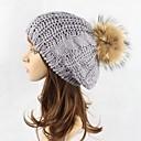 זול מערכות דלק-כובע צמר כובע כומתה (בארט) כובע פאדורה כובע עם שוליים רחבים כובע סקי - אחיד מסוגנן בגדי ריקוד נשים