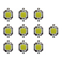 cheap Men's Boots-10pcs 800 lm Bulb Accessory Brass LED Chip 10 W