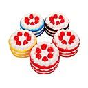 זול מפיגי מתח-LT.Squishies צעצוע מעיכה מזון ומשקאות / תות / Cake הפגת מתחים וחרדה / Office צעצועים במשרד / מודרני, חדשני 1 pcs יוניסקס מתנות
