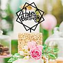 رخيصةأون أغراض الحفلة-زفاف / عيد ميلاد أكريليك زينة الزفاف كلاسيكيClassic Theme كل الفصول
