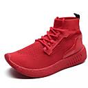 رخيصةأون أحذية رياضية رجالي-للرجال PU خريف مريح كتب أسود / أحمر