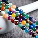 זול חרוזים-תכשיטים DIY 48 יח חרוזים ברקת קשת עגול חָרוּז 0.8 cm עשה זאת בעצמך שרשראות צמידים