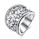 זול Fashion Ring-בגדי ריקוד נשים טבעת הטבעת - נחושת אופנתי 8 כסף עבור יומי / קרנבל