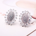 cheap Earrings-Women's Stud Earrings - Silver For Wedding Party