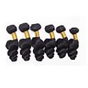 お買い得  フロント&クロージャー-6バンドル ブラジリアンヘア ルーズウェーブ 10A バージンヘア 人間の髪編む 8-26 インチ 人間の髪織り 人間の髪の拡張機能