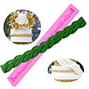 billige Kjøkkenredskap-Bakeware verktøy silica Gel baking Tool / Bursdag / Valentinsdag Kake / For Småkake / Til Kake Cake Moulds