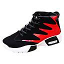 זול נעלי ספורט לגברים-בגדי ריקוד גברים נעלי נוחות PU סתיו / חורף נעלי אתלטיקה שחור לבן / שחור אדום / שחור / כחול / כדורסל