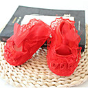 cheap Baby Shoes-Shoes Lace / Fabric Spring & Summer Comfort / First Walkers Flats for Baby Yellow / Red / Pink