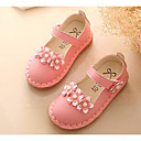 cheap Fashion Watches-Girls' Shoes PU Spring & Summer Comfort / Flower Girl Shoes Flats for White / Red / Pink