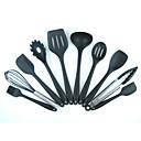 billige Bakeredskap-kjøkken Verktøy silica Gel Kreativ Kjøkken Gadget Cooking Tool Sets For kjøkkenutstyr 10pcs