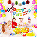 cheap Party Supplies-Birthday / Birthday Party Nonwoven Fabric Wedding Decorations Romance / Birthday / New Baby Spring, Fall, Winter, Summer