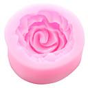 preiswerte Kuchenbackformen-kleine Rose Blume Silikon Kuchen Schimmel Fondant Sugarcraft Werkzeuge