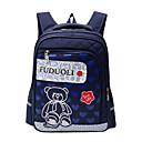 זול Elementary Backpacks-שקיות ניילון תרמיל רוכסן ל קזו'אל כחול כהה / סגול / פוקסיה