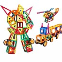 cheap Magnetic Building Blocks-Magnetic Blocks / Building Blocks 218pcs People / Vehicles Transformable Gift