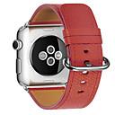 זול אביזרים שעון חכם-צפו בנד ל Apple Watch Series 3 / 2 / 1 Apple אבזם קלאסי עור רצועת יד לספורט