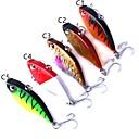 זול פיתיונות וזבובי דיג-5 pcs פיתיון קשיח פלסטי דיג בים / דיג כללי / חכות וסירת דיג