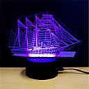 olcso Stresszoldó játékok-1set LED éjszakai fény Érintsd 7-Color USB által Stressz és szorongás oldására Dekoratív fény USB porttal Színváltós