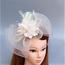זול הד פיס למסיבות-עור / רשת מפגשים / פרחים / כובעים עם נוצות \ פרווה / פרחוני 1pc חתונה / אירוע מיוחד כיסוי ראש