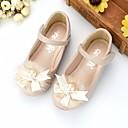 ieftine Pantofi Fetițe-Fete Pantofi Microfibră PU sintetică Primăvară / Toamnă Confortabili / Pantofi Fata cu Flori Pantofi Flați pentru Bej / Roz