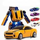 baratos Brinquedos de Corda-Robô Carros de Brinquedo Tema Clássico Carro Transformável Crianças Brinquedos Dom