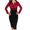 זול מוקסינים לנשים-בגדי ריקוד נשים מידות גדולות כותנה רזה מכנסיים - אחיד אודם