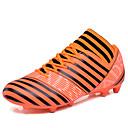 זול נעלי ספורט לגברים-בגדי ריקוד גברים PU אביב / סתיו נוחות נעלי אתלטיקה כדורגל שחור / כתום / ירוק בהיר