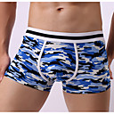 cheap Phone Cables & Chargers-Men's Boxers Underwear Solid Color / Camouflage Color Mid Waist