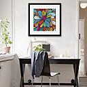 זול אומנות ממוסגרת-מופשט איור וול ארט,PVC חוֹמֶר עם מסגרת For קישוט הבית אמנות מסגרת סלון פנימי