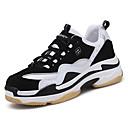 זול נעלי ספורט לגברים-בגדי ריקוד גברים PU אביב / סתיו נוחות נעלי אתלטיקה ריצה שחור