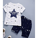 cheap Boys' Clothing Sets-Boys' Daily Solid Polka Dot Clothing Set, Cotton Bamboo Fiber Winter Long Sleeves Casual Navy Blue Gray Wine