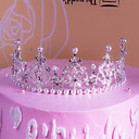 cheap Cake Toppers-Cake Topper Romance / Fashion / Birthday Bling Bling Alloy Wedding / Birthday with Rhinestone / Faux Pearl / Metallic 1 pcs Gift Bag