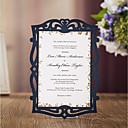 זול מזכרות בקבוק-כרטיס שטוח הזמנות לחתונה 20 - כרטיסי הזמנה סגנון מודרני נייר עם תבליטים דוגמא \ הדפס