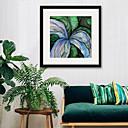 ieftine Acțibilde de Perete-Abstract Floral/Botanic Ilustrație Wall Art,PVC Material cu Frame For Pagina de decorare cadru Art Sufragerie Dormitor Bucătărie Cameră