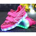ieftine Pantofi Fetițe-Fete Pantofi Tul / Imitație de Piele Primăvară / Toamnă Confortabili Adidași pentru Alb / Albastru Închis / Fucsia