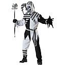 זול תחפושות מבוגרים-ליצן תחפושות קוספליי בגדי ריקוד גברים האלווין (ליל כל הקדושים) פסטיבל / חג תחפושות ליל כל הקדושים שחור משובץ / משבצות