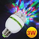 tanie Oświetlenie sceniczne-Oświetlenie LED sceniczne / Żarówki LED Par Automatyczny 3 W na Impreza / Scena / Urodziny Przenośny / a / Wielofunkcyjny / Lekki
