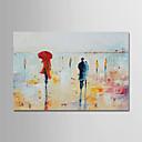 voordelige Nude Art-Hang-geschilderd olieverfschilderij Handgeschilderde - Abstract Hedendaags Eenvoudig Modern Kangas