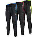 cheap Cycling Pants, Shorts, Tights-Arsuxeo Men's Cycling Pants Bike Pants Bottoms Windproof Anatomic Design Reflective Strips Sports Polyester Elastane Winter Yellow / Red / Blue Road Bike Cycling Clothing Apparel Relaxed Fit Bike Wear