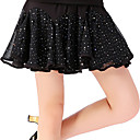 cheap Latin Dance Wear-Latin Dance Bottoms Women's Training Polyester Paillette Dropped Skirts