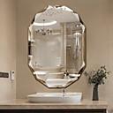 זול וילונות מקלחת-מראה עכשווי זכוכית משוריינת יחידה 1 - מראה אביזרי מקלחת / מראה מלוטשת