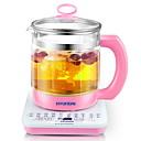 זול מכשירים למטבח-קומקום זכוכית פלדת אלחלד יפנית תנורי מים 220V 800W מכשיר מטבח