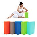 hesapli Minderler-Yoga Blokları Yüksek yoğunluklu, Neme dayanıklı, Hafif EVA Destekler ve Derinlemesine Pozlar, Yardım Dengesi ve Esneklik İçin Pilates / Fitness / Jimnastik Kadın's / Unisex Mavi, Pembe, Menekşe