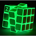 cheap Fidget Spinners-Rubik's Cube Luminous Glow Cube 3*3*3 Smooth Speed Cube Magic Cube Puzzle Cube Glow in the Dark Classic Places Gift Square Shaped Girls'