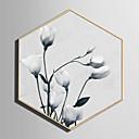 ieftine Includeți cadru interior-Peisaj Floral/Botanic Ilustrație Wall Art,Plastic Material cu Frame For Pagina de decorare cadru Art Sufragerie Interior