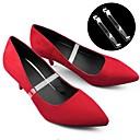 hesapli Ayakkabı Bağcıkları-2adet PVC Ayakkabı Bağcıkları Kadın's Düğün / Seyahat Beyaz