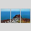 זול אומנות ממוסגרת-ציור שמן צבוע-Hang מצויר ביד - L ו-scape מודרני בַּד