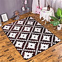 cheap Shower Curtains-Area Rugs Modern Bonded / Flannelette, Flat Shape / Rectangular Superior Quality Rug / Latex Non Skid