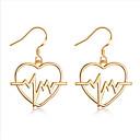 olcso Fülbevalók-Női Francia kapcsos fülbevalók - Európai, Divat Arany / Ezüst Kompatibilitás Napi Utca