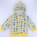 זול סוודרים ואריגים לבנות-חולצה דמוי פרווה / כותנה שרוול ארוך דפוס גיאומטרי / דפוס / קולור בלוק יום יומי / פעיל / בסיסי בנים תינוק